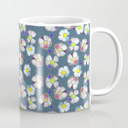 delft blue wild rose Coffee Mug