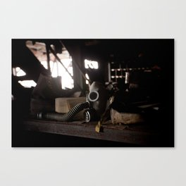 Make sure you have your mask on! Canvas Print