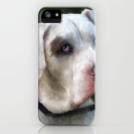 Leo the Great Dane iPhone Case