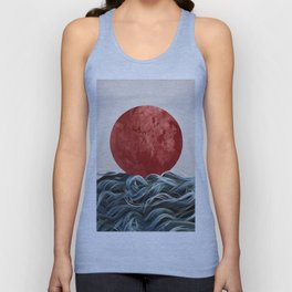 Sunrise in Japan Unisex Tank Top