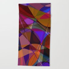 Abstract #376 Beach Towel