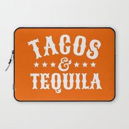 Tacos & Tequila (Orange) Laptop Sleeve