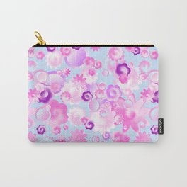 Abstract pink pattern. Carry-All Pouch