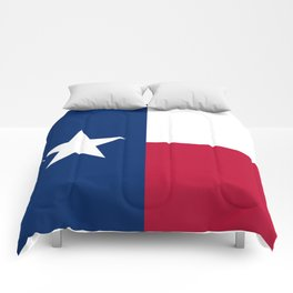 Texas state flag, High Quality Authentic Version Comforters
