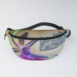 How Now Brown Flow-er Fanny Pack