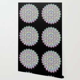 1 Billion Dollars Geometric Black Bling Cash Money Wallpaper