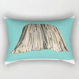 Cave, reverse cave. Rectangular Pillow