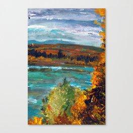 Wild Taiga Canvas Print