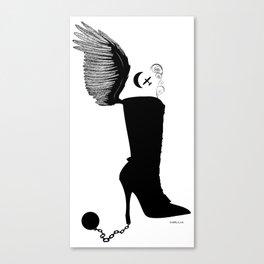 The Shoe Addict Canvas Print
