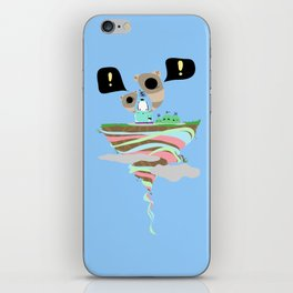 Dreaming for an adventure. iPhone Skin
