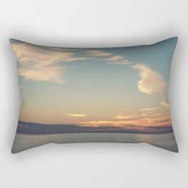 Sundrenched Skies Rectangular Pillow