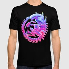 Xenomorph Mens Fitted Tee LARGE Black
