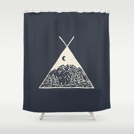 feel the outdoors Shower Curtain