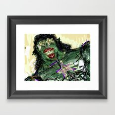 09 Framed Art Print