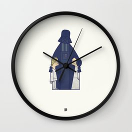 May the Love be with you Wall Clock