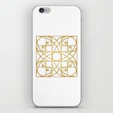 Golden Flower iPhone & iPod Skin