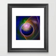 Entrance to universe Framed Art Print