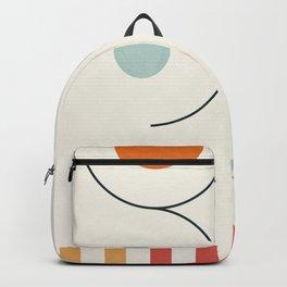 Clean Flow Geometry 8 Backpack