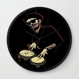 Bongo Beatin' Beatnik Wall Clock