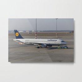 Lufthansa Airbus A320-211 Metal Print