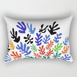 Matisse Floral Pattern #1 Rectangular Pillow