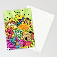 Colour In The Garden Stationery Cards