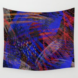 Abstract blue background Wall Tapestry