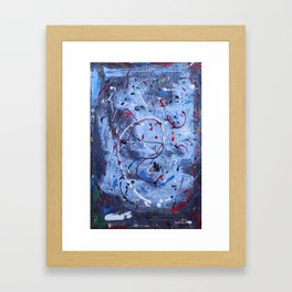 Ghost in the Machine Framed Art Print