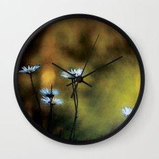 Fleurs des champs colors fashion Jacob's Paris Wall Clock