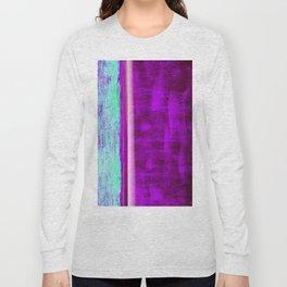 Violet stripes Long Sleeve T-shirt