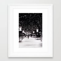 denver Framed Art Prints featuring Denver by Lupe Jimenez