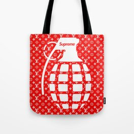 Supreme Grenade - Art print Tote Bag