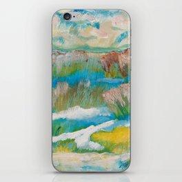 Alberta Spring Landscape / Dennis Weber of ShreddyStudio iPhone Skin