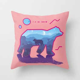 BEAR ~ Sign::dimension Throw Pillow