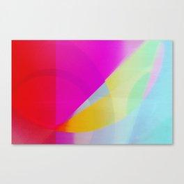 Pop Fields Canvas Print