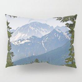 MOUNT LARRABEE FROM HEATHER MEADOWS Pillow Sham