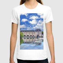 Beautiful Chateau de Chenonceau   T-shirt