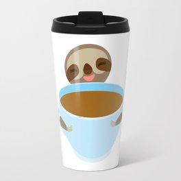 sloth & coffee Travel Mug