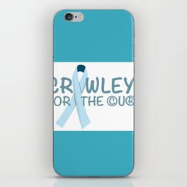 Crawley for the Cure iPhone Skin