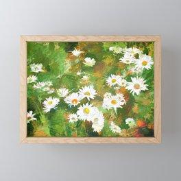 Daisies Framed Mini Art Print
