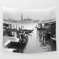venice Wall Tapestries featuring Venice  by Katie Ward