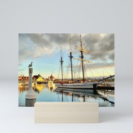 Tole Mour & Rainbow Harbor Mini Art Print