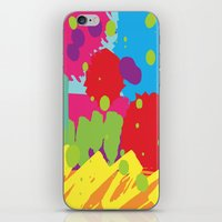 graffiti iPhone & iPod Skins featuring Graffiti by rivercbishop