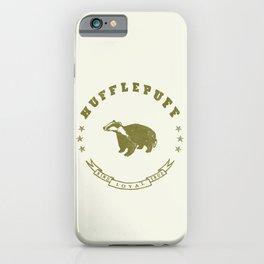Hufflepuff House iPhone Case