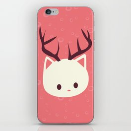 Reindeer Cat iPhone Skin