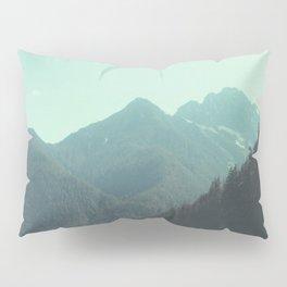 Desolation is beyond the horizon - Diablo Lake Pillow Sham