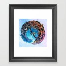 Istanbul's Golden [Sphere] Framed Art Print