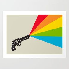 Colour Explosion Art Print