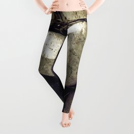 Our Love Is Carved in Stone Leggings