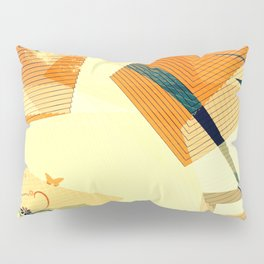Butterfly and the tree Pillow Sham